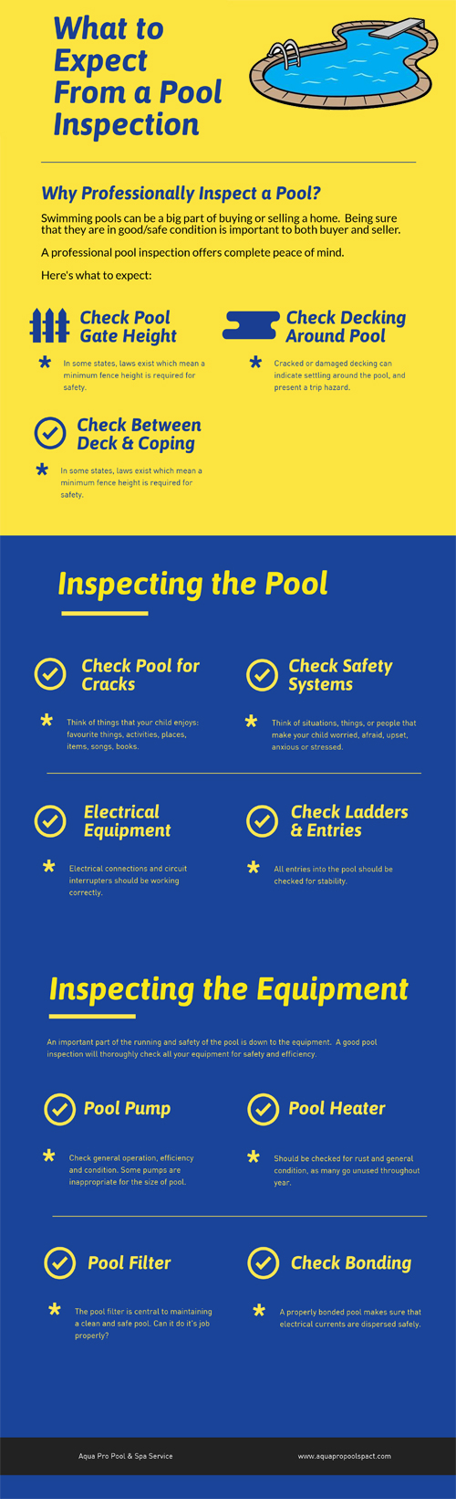 Pool Inspection infographic